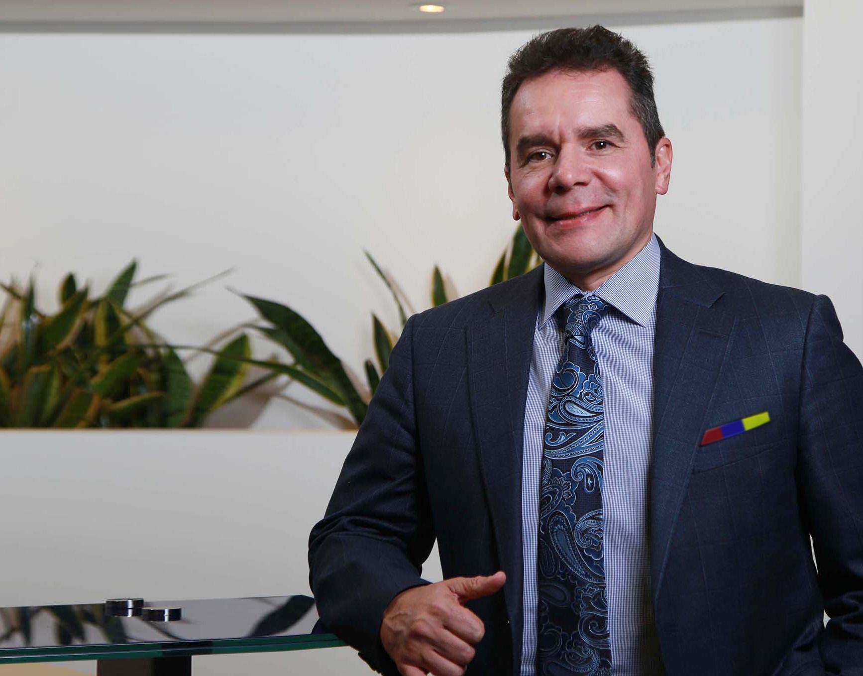 Jaime Esparza y la Selección Colombia